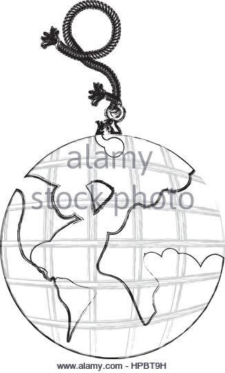 326x540 Line Drawing World Map Stock Photos Amp Line Drawing World Map Stock