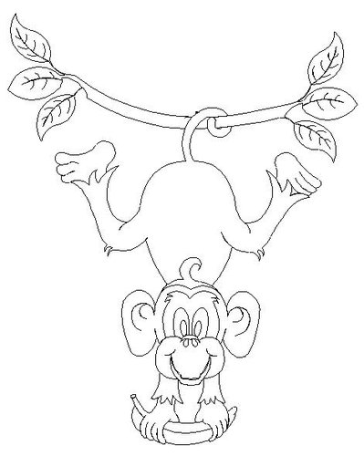 399x500 Shop Category Animals Mammals Product Hanging Monkey