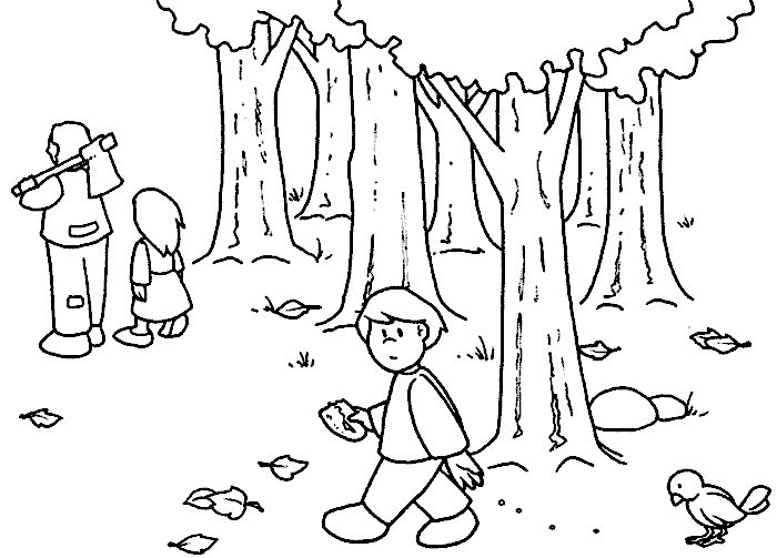 Hansel And Gretel Drawing at GetDrawings.com | Free for personal use ...