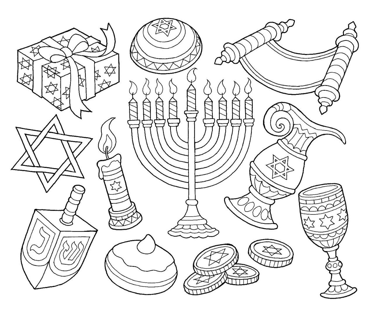 Hanukkah Drawing at GetDrawings.com | Free for personal use Hanukkah ...