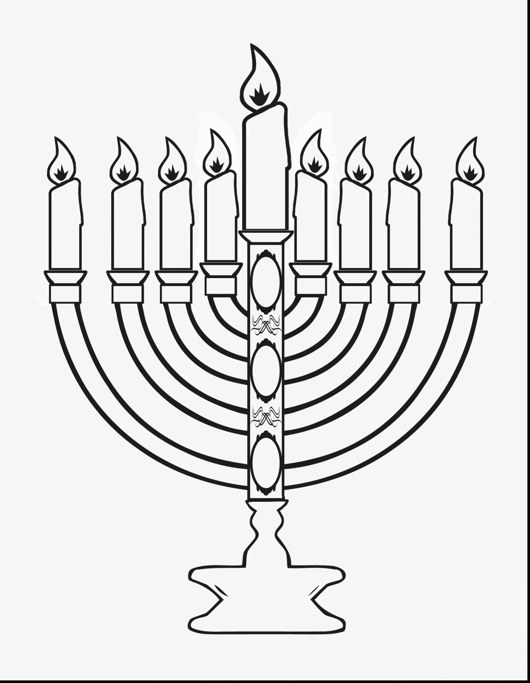 Hanukkah Menorah Drawing At Free For Personal Use Lighting Diagram 2050x2640 Good Coloring Pages Menorahs With Page