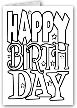 301x420 Happy Birthday Kid Set Of Coloring Greeting Cards