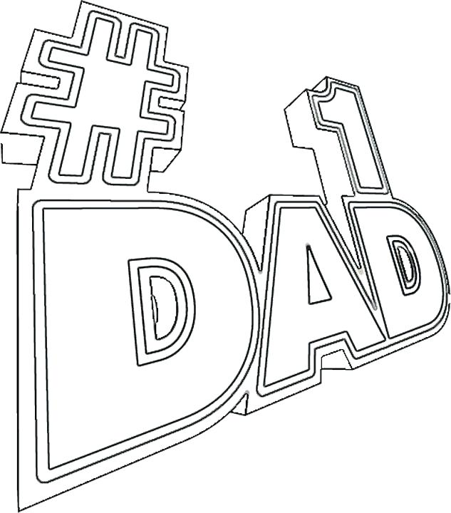 633x720 Happy Birthday Daddy Coloring Pages Murs