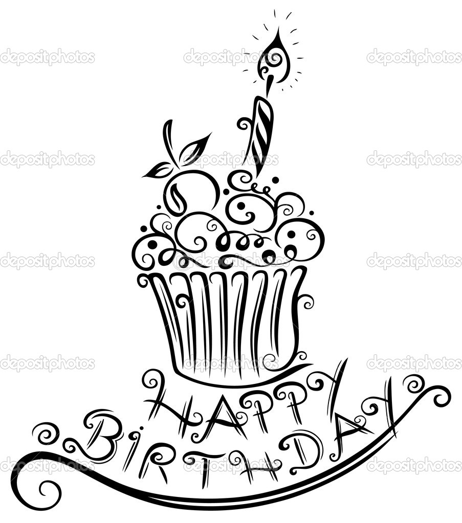 903x1023 Drawing Of Happy Birthday Happy Birthday Drawing Group