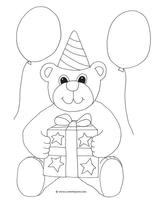 539x707 Drawn Balloon Happy Birthday