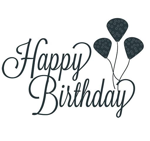510x480 Happy Birthday Word Art