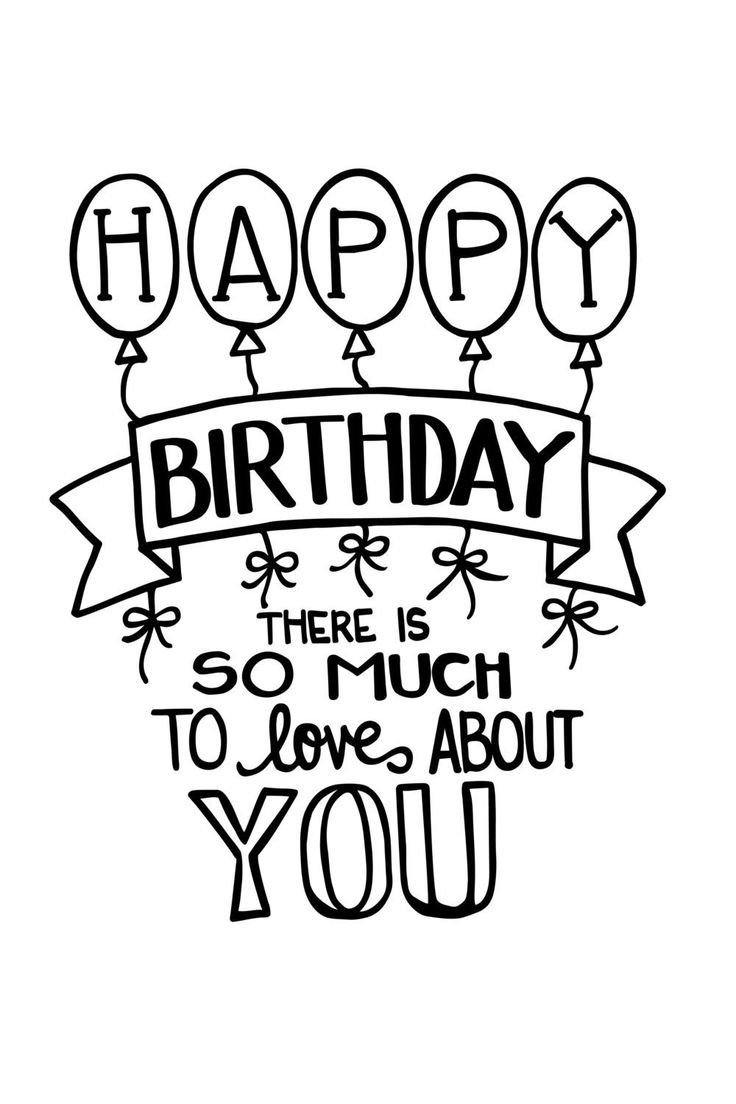 736x1104 Image Result For Calligraphy Happy Birthday Doodles