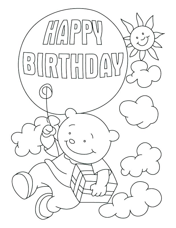 618x800 Amazing Happy Birthday Cards Coloring Pages Fee Printable