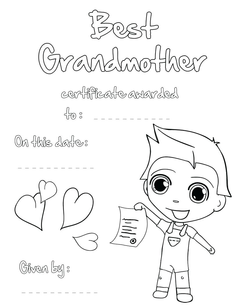 820x1060 Happy Birthday Grandma Coloring Pages 118 Inspiring Mom Cards