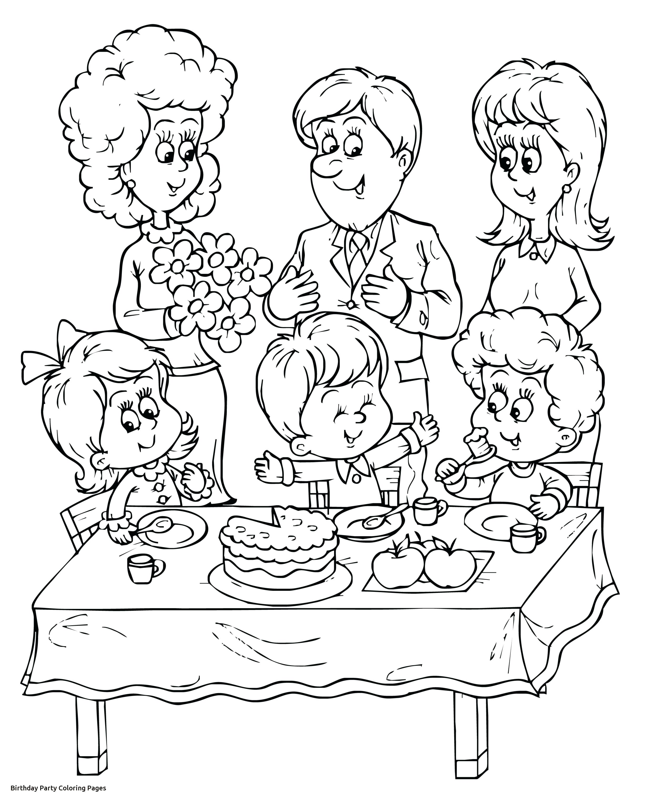 2454x3054 Coloring Coloring Pages Of Happy Birthday Kids Cool Party Cards