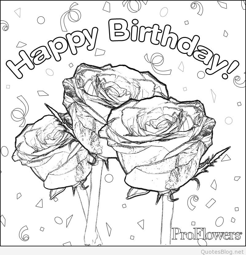 For Coloring Pages 529779 800x828 Mother Birthday Images Cards