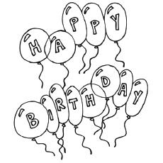 230x230 Card Invitation Design Ideas 35 Amazing Happy Birthday Coloring