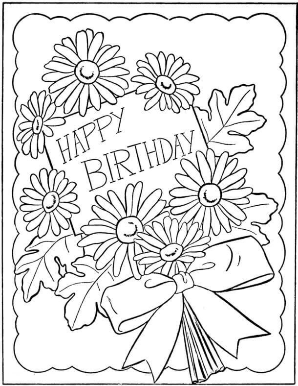 Happy Birthday Drawing Designs