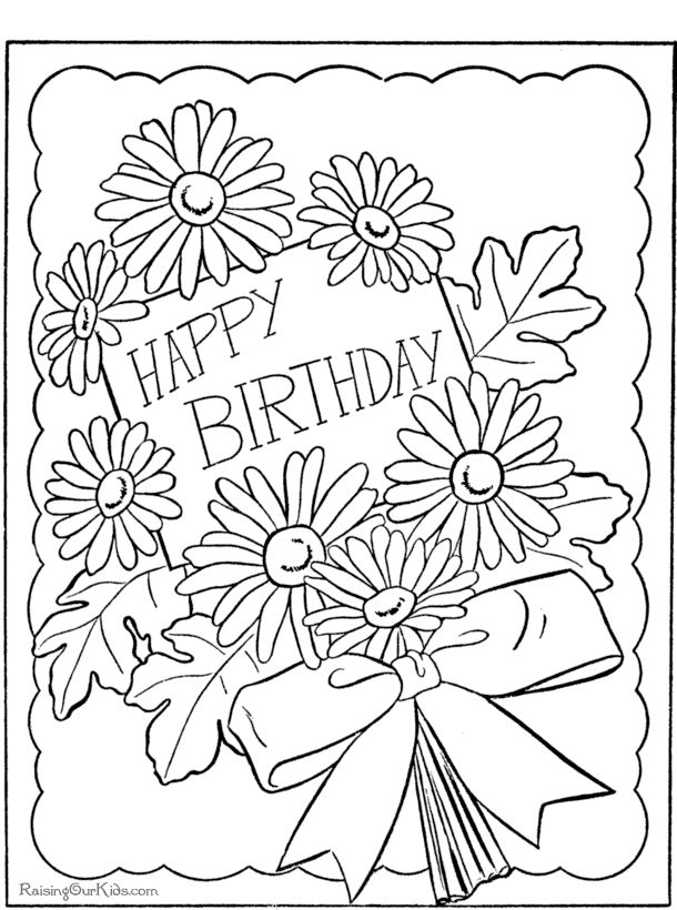 610x820 Happy Birthday Book Ideas Thank You On Download Coloring Pages