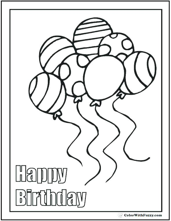 590x762 Birthday Coloring Book Plus Birthday Coloring Pages Coloring Pages