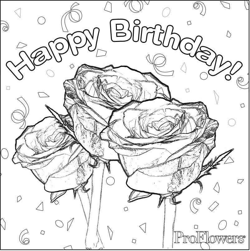 802x803 Happy Birthday Coloring Lesson Coloring Pages For Kids