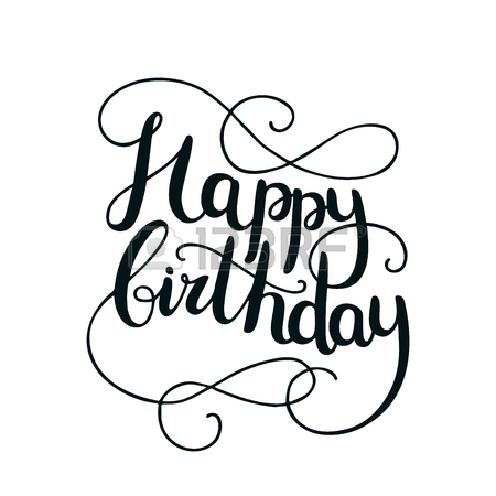 450x450 45,272 Happy Birthday Text Stock Illustrations, Cliparts