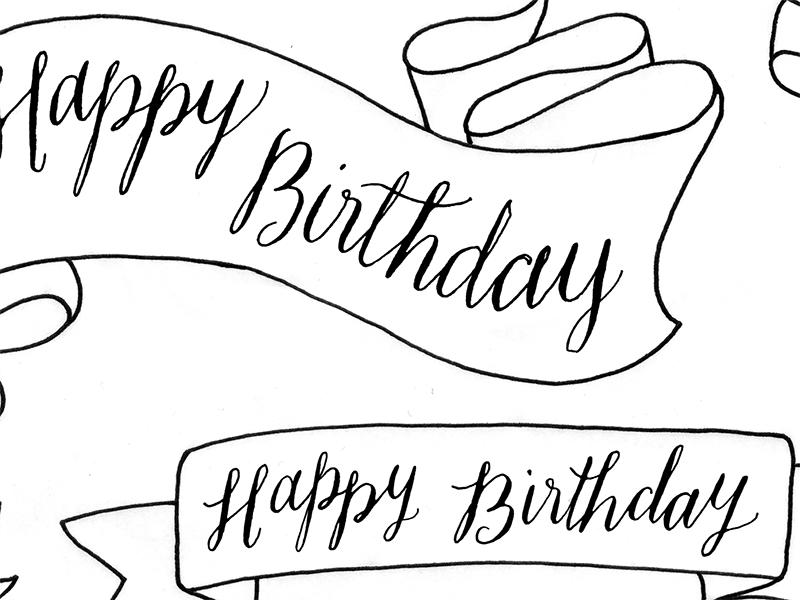 800x600 Happy Birthday Banners By Traci Williams