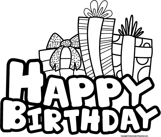 559x477 Free Happy Birthday Clipart Diy And Crafts
