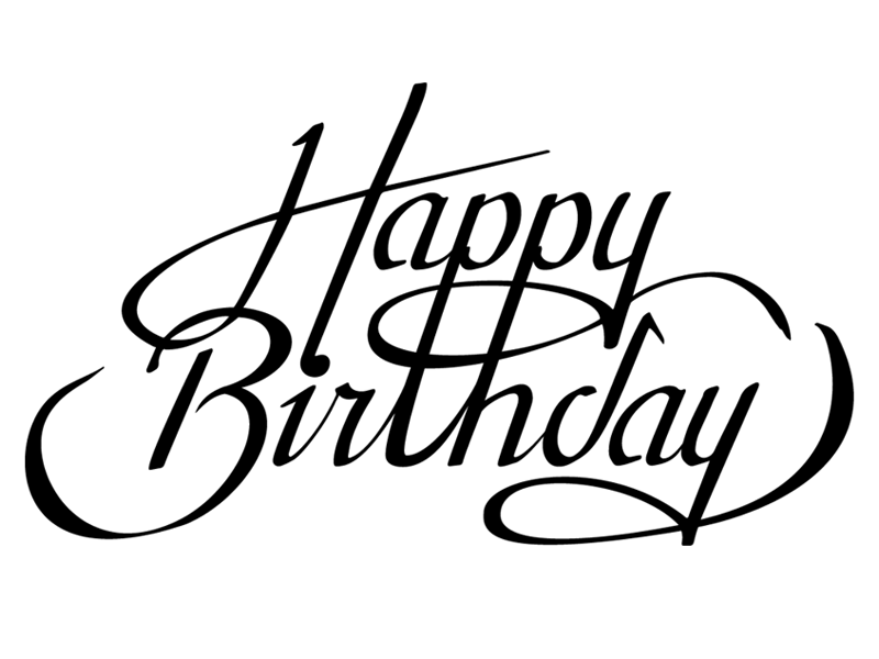 happy birthday line drawing at getdrawings com free for personal rh getdrawings com happy birthday logos clip art happy birthday logos free