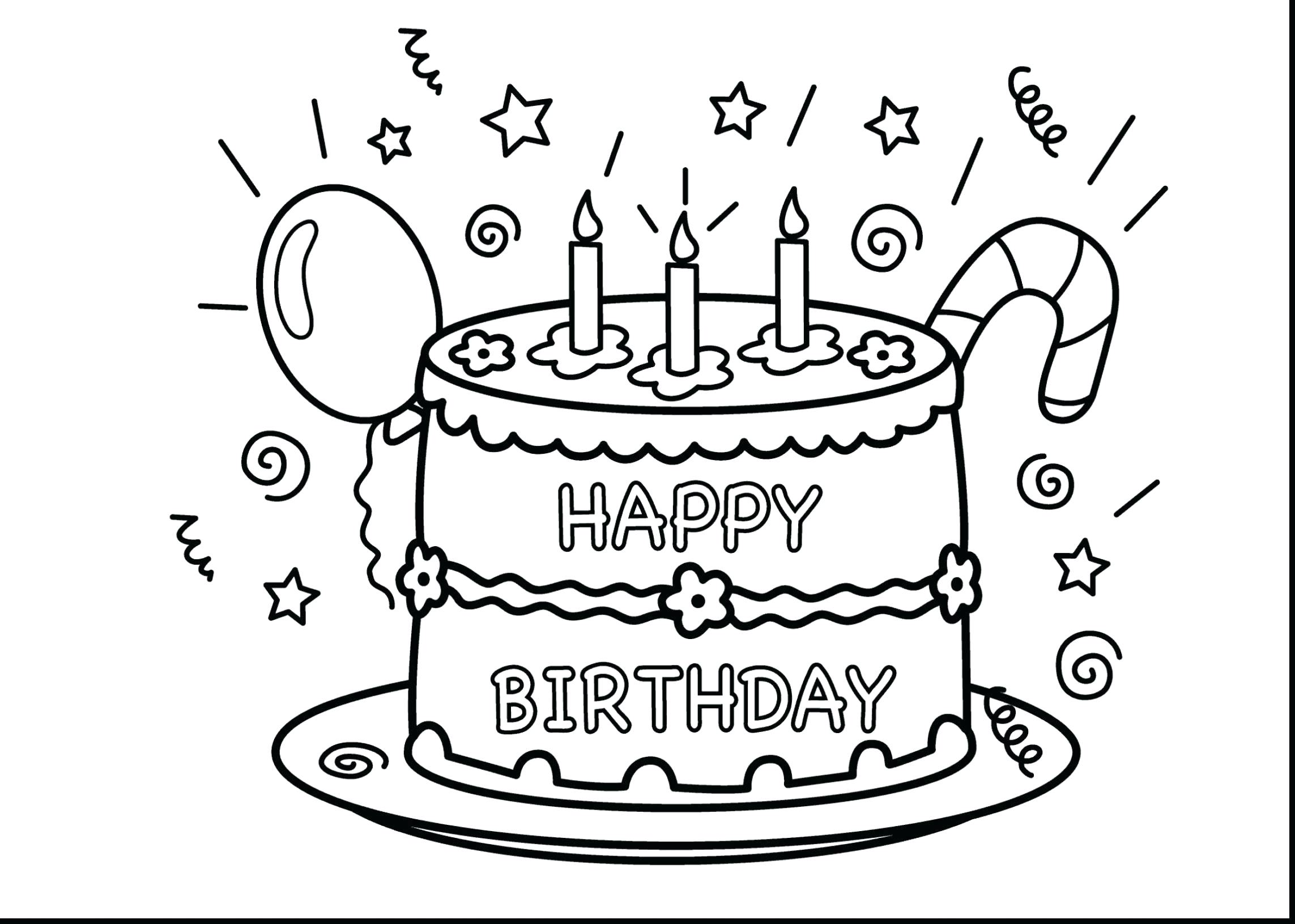 2286x1631 Coloring Happy Birthday Grandma Coloring Pages