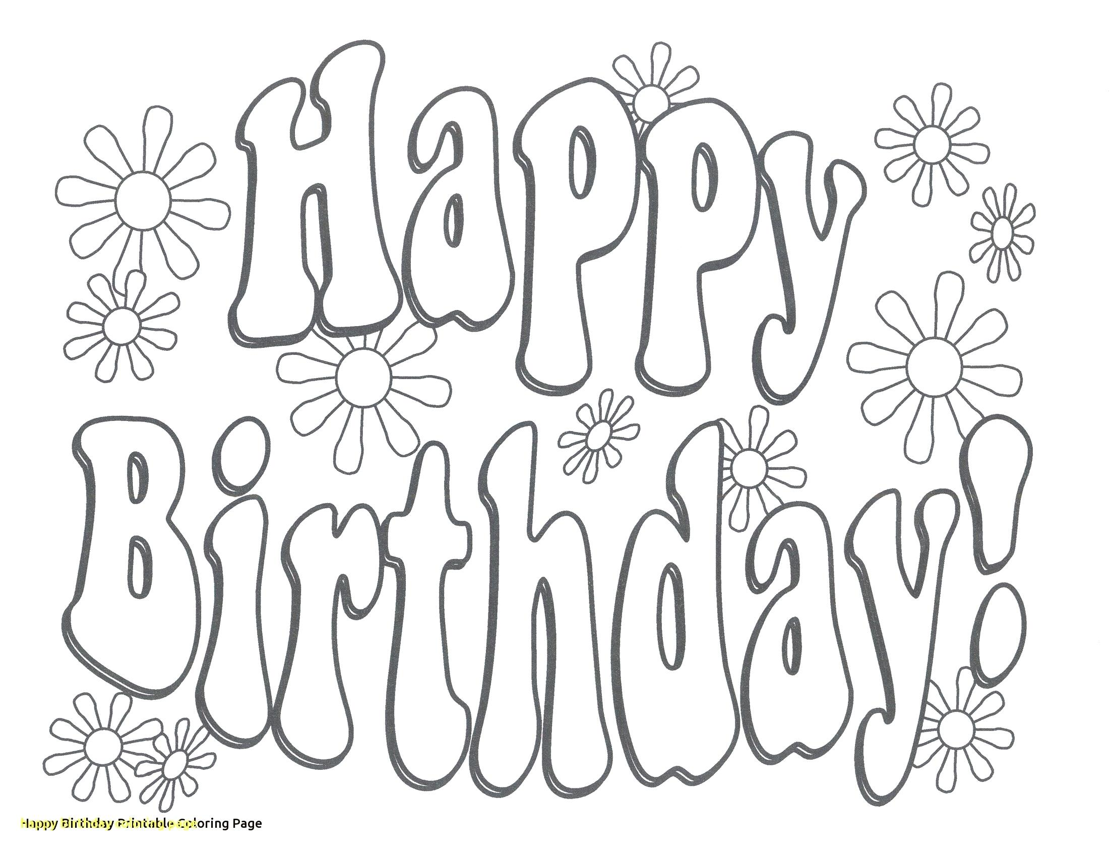2204x1690 Printable Happy Birthday Activity Printable Coloring Page