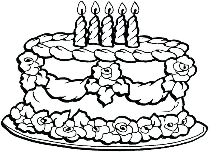 700x510 Birthday Coloring Pages Detail Big Happy Birthday Coloring Page