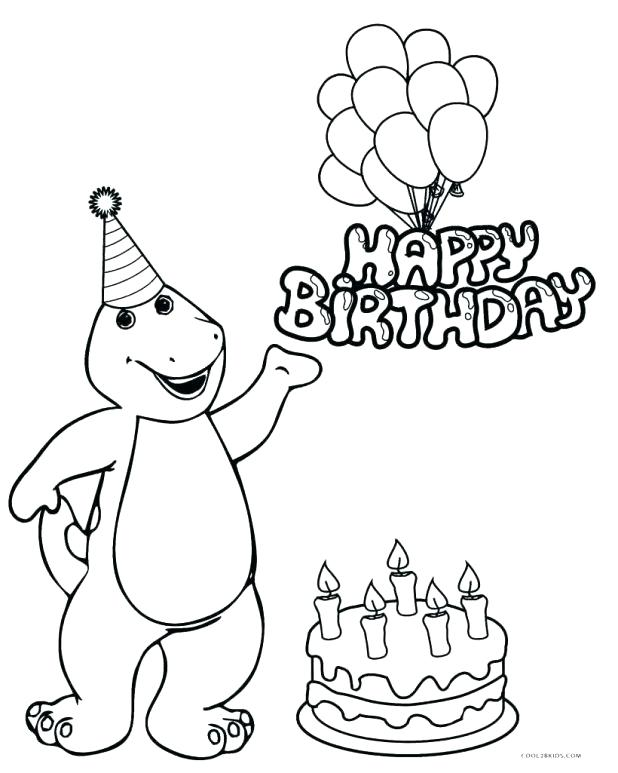 618x773 Birthday Coloring Pages For Mom In Kids