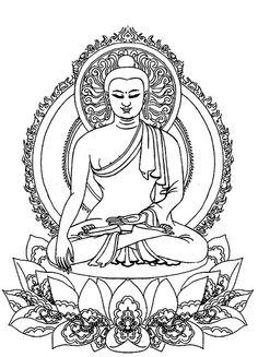 236x327 Buddha Outline Tattoo Elaxsir