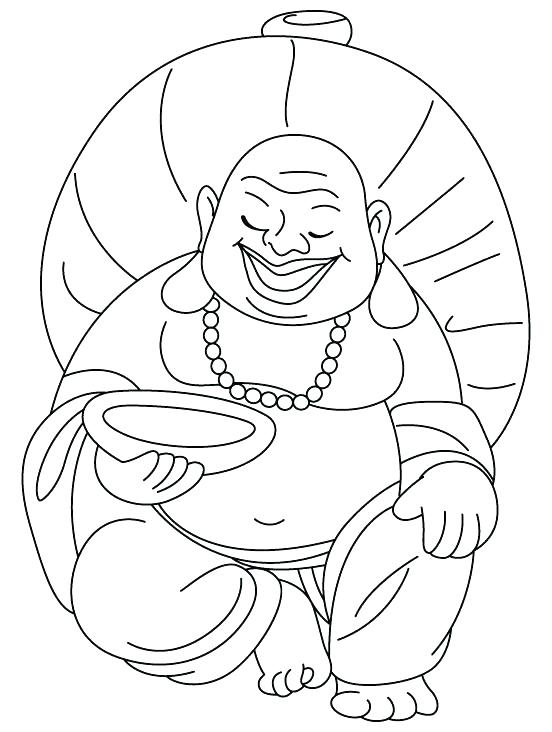 552x732 Buddhist Coloring Pages Coloring Pages Laughing Also Celebrating