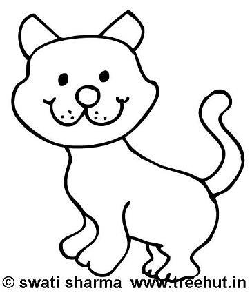 365x425 cat coloring pages