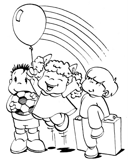 410x512 Happy Coloring Pages