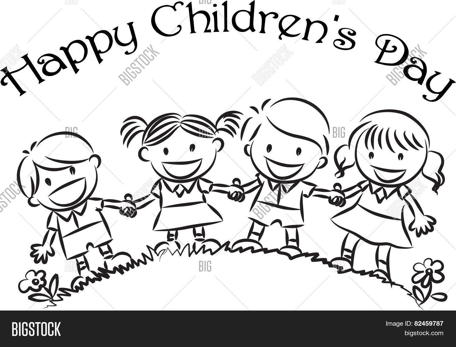 1500x1141 Happy Children's Day Vector Amp Photo Bigstock