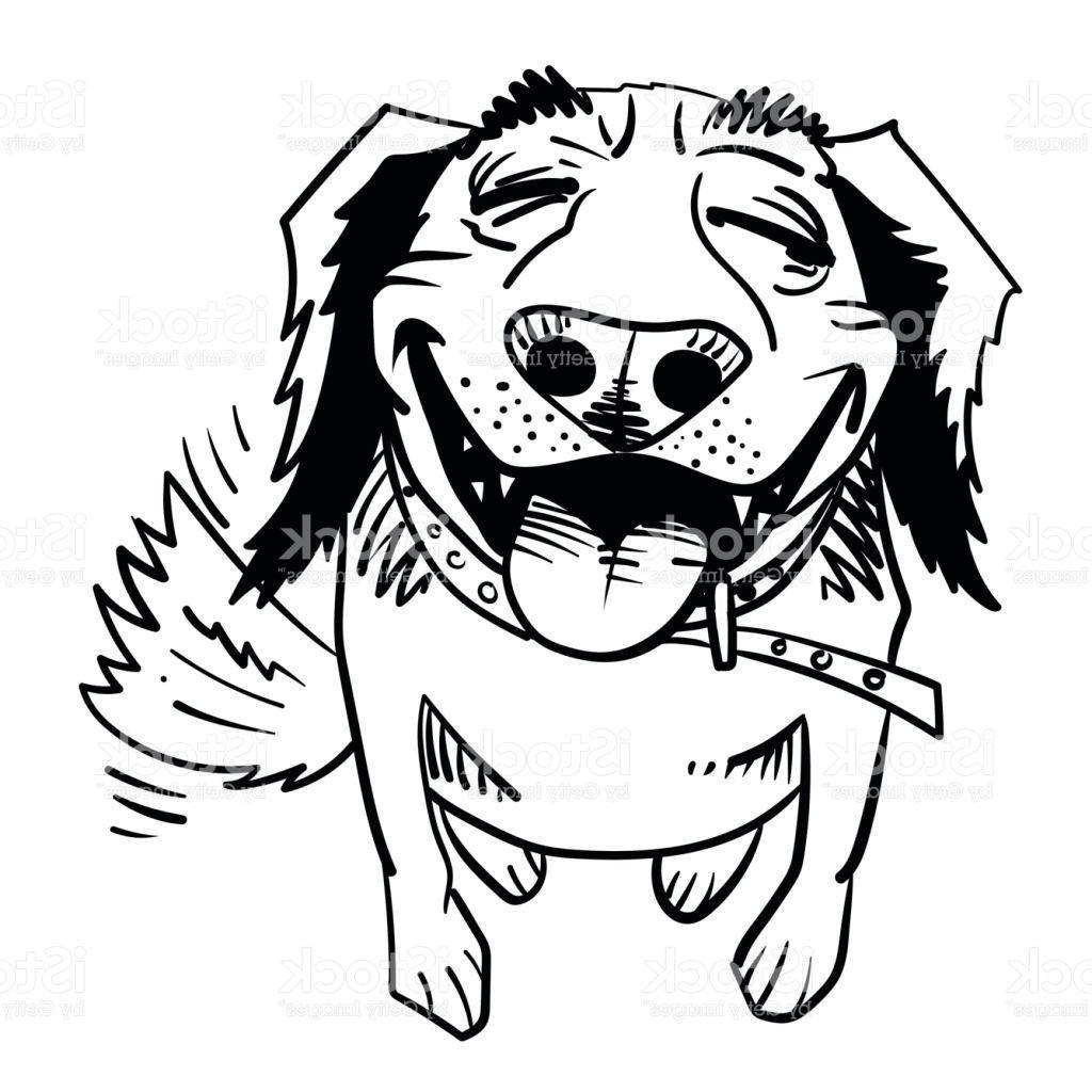 1024x1024 Unique Cartoon Image Of Happy Dog Vector Design