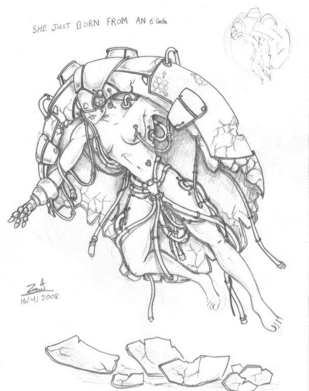 608x768 Happy Drawing Day 1 By Zawyemyint1
