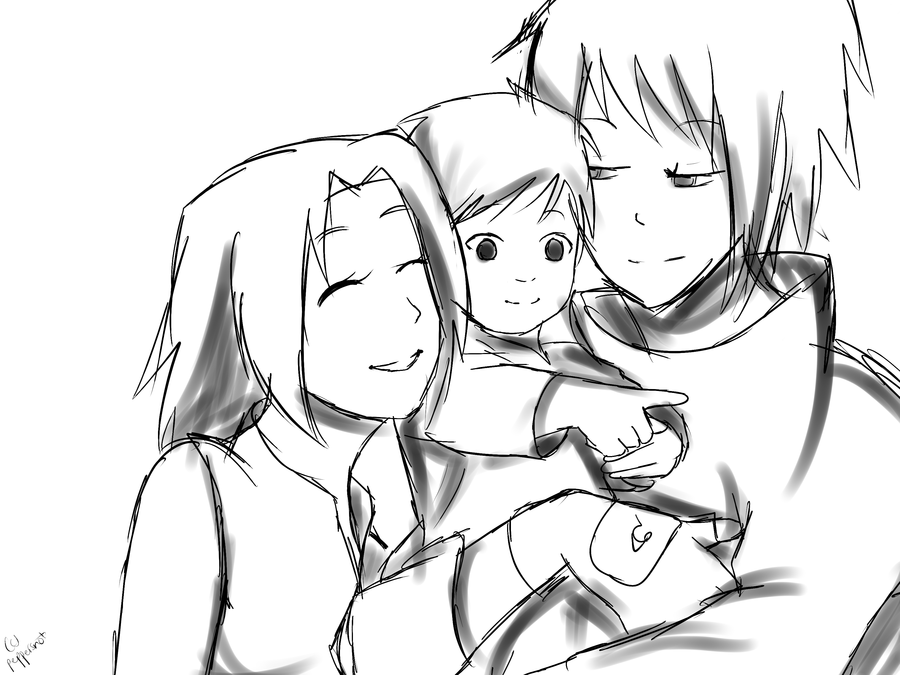 900x675 Happy Families Sketch By Pepperlicious