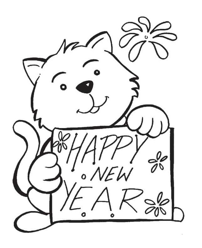 644x792 Happy New Year Simple Amp Easy Activity For Children The Reading Point