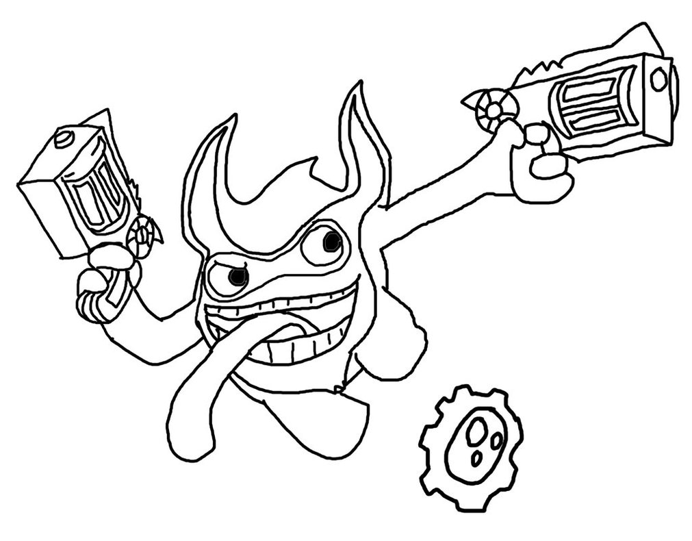 1011x790 Trigger Happy Coloring Pages