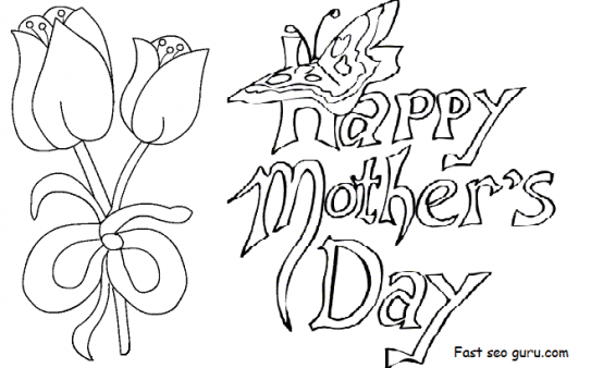 543x338 Easy^ Mothers Day Drawings Ideas, Pictures For Cards Mothers Day