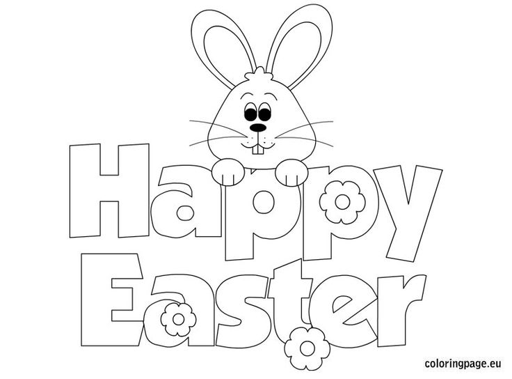 736x544 Easter Drawings Templates Happy Easter 2018