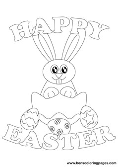 238x336 Easter Bunnies 2012 Coloring Page