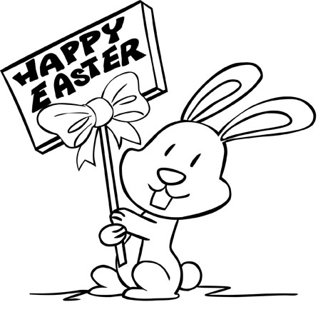 446x458 Original Easter Coloring Pages You Are Going To Color In.