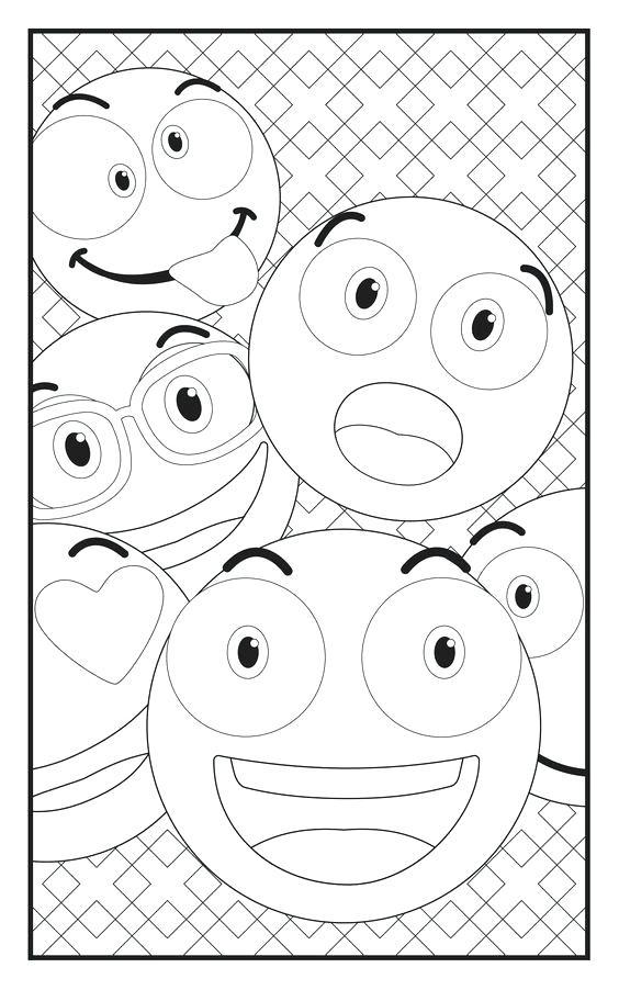 564x902 Emoji Coloring Sheet Plus Happy 312