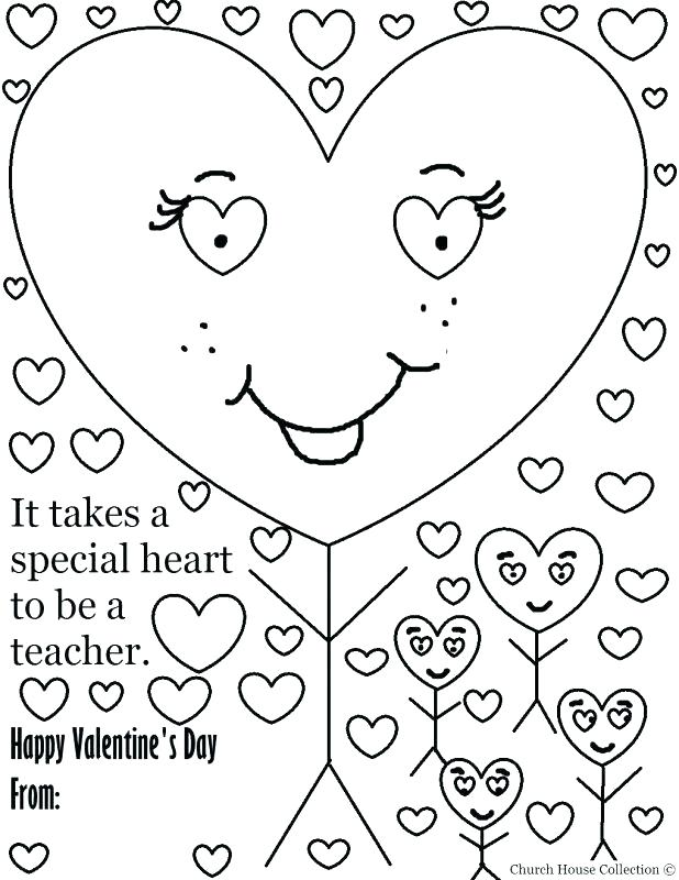 618x800 Amazing Happy Valentines Day Coloring Page Online