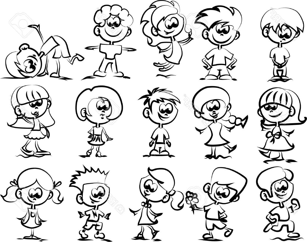 1300x1023 Happy Face Cartoon Sketches Best Cartoon Faces Ideas