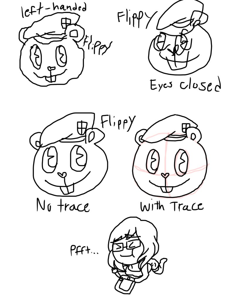 774x1032 Happy Tree Friends Different Drawings Of Flippy By Artsygumi