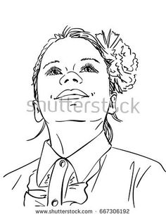 236x308 Line Art Sketch Of Happy Smiling Baby Lies On Back With Eyes
