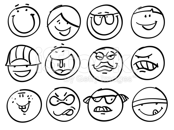 556x417 Smiley Face Sketch