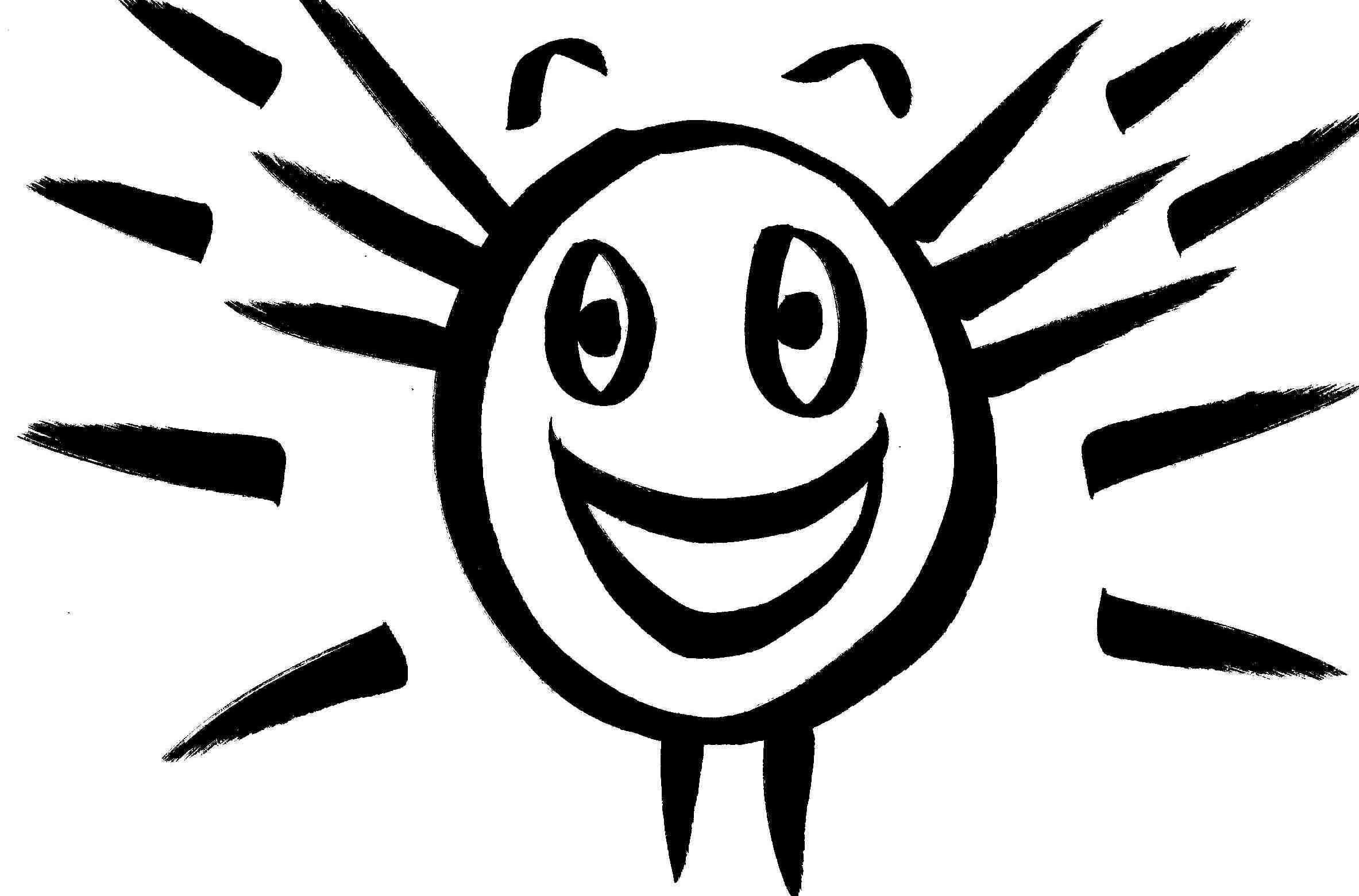 Line Drawing Smiley Face : Happy face drawing at getdrawings free for personal
