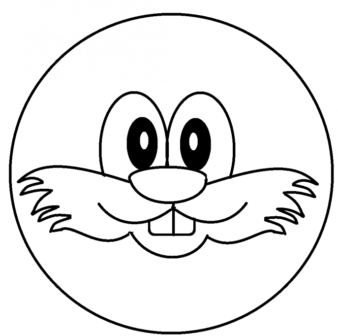 687x682 Coloring Pages Extraordinary Smiley Face Coloring Pages 9 Happy